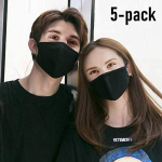 Organic Labs – 5 Pack Face Masks with Breathing – 100% Cotton, Washable $7.78 (REG $17.99)