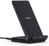 Anker Wireless Charger, PowerWave Stand, Qi-Certified for iPhone 11, 11 Pro, etc. $12.99 (REG $18.99)