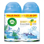Air Wick Pure Freshmatic 2 Refills Automatic Spray, Fresh Waters $7.58 (REG $25.99)