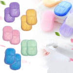 Severkill 10 Boxes Total 200 Sheets Portable Disposable Paper Soap Sheets$4.99 + $0.99 shipping