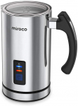 Miroco Electric Milk Frother, Steamer Stainless Steel, Automatic Hot & Cold Milk Frother $33.99 (REG $49.99)