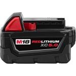 Milwaukee 48-11-1850 M18 Redlithium 5.0Ah Bat Pack $66.20 (REG $222.00)