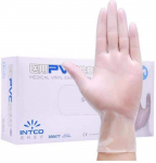 Disposable Vinyl Gloves, 100 Size Medium Non Sterile, Powder Free, Latex Free $18.80 (REG $29.99)