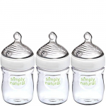 NUK Simply Natural Baby Bottle, Clear, 5 Ounce (Pack of 3)$8.59 (REG $17.99)
