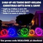 Activ Life LED Bike Wheel Lights $13.99 (REG$22.99)