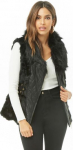 Faux Leather & Fur Vest $26.00 (REG $52.00)