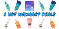 6 Hot Walmart Deals On Skin Care Products!