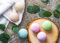 6 PC Earth Vibes Bath Bombs Gift Set $12.95 (REG $39.95)