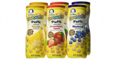 Amazon: Gerber Graduates Puffs Cereal 6ct Pack Just $7.87 Shipped!