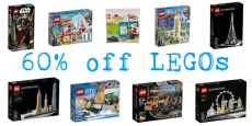 Score Up To 60% Off Select LEGO Sets!
