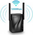 WiFi Range Extender – 1200Mbps WiFi Repeater Wireless Signal Booster $46.99 (REG $108.00)
