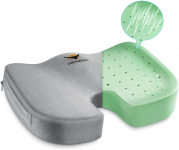 Seat Cushion,OVEYNERSIN Pillow for Office Chair – 100% Pure Memory Foam $14.99 (REG $39.99)