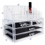 Acrylic Jewelry & Cosmetic Boxes $15.99  (REG $28.10)