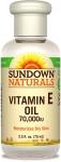 Sundown Naturals Vitamin E Oil 70,000 IU, 2.50 Ounce Bottle (Pack of 3) $8.99 (REG $26.97)