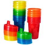 The First Years Take & Toss Spill Proof Sippy Cups Value Pack, Rainbow, 20pcs. $5.99 (REG $12.99)