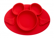 The First Years Disney Mickey Mouse Silicone Place-mat, Red $7.15 (REG $10.99)