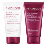 Keranique Keratin Shampoo and Conditioner Set for Fine Thinning Hair $16.00 (REG $40.00)