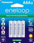 eneloop AAA 2100 Cycle Ni-MH Pre-Charged Rechargeable Batteries, 8 Pack$16.99 (REG $26.99)