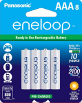 AAA 2100 Cycle Ni-MH Pre-Charged Rechargeable Batteries, 8 Pack$15.86 (REG $26.99)