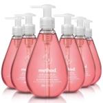 Method Gel Hand Soap, Pink Grapefruit, 12 Fl Oz (Pack of 6) $12.54 (REG $30.00)