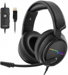 7.1 Surround Sound Headphones with Noise Cancelling Mic $21.66 (REG $48.00)