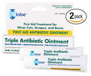 Triple Antibiotic First Aid Ointment, 1 oz. (Compare to Neosporin) 2-Pack $6.99 (REG $12.99)