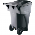 Rubbermaid BRUTE Rollout Heavy-Duty Wheeled Trash/Garbage Can, $94.61 (REG $281.00)
