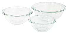 Pyrex Glass Mixing Bowl Set (3-Piece) $12.99 (REG $43.00)