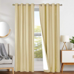 Lined Thermal Moderate Blackout Curtains for Bedroom $12.27 (REG $24.99)