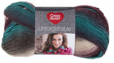 Red Heart E793-3952 Tealberry Unforgettable Yarn $5.99 (REG $12.65)