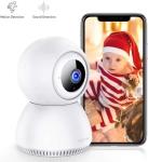 LIGHTNING DEAL!!! Home Security Camera Wireless Indoor Surveillance Camera$18.60 (REG $39.99)