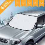 AiBast Car Windshield Snow Ice Cover for Vehicles with 8 Magnetic Fixing Shade $19.97 (REG $28.99)