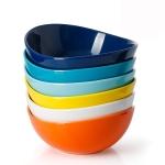 Porcelain Bowls – 18 Ounce for Cereal, Salad, Dessert – Set of 6$20.69(REG $30.99)