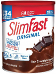 SlimFast Original Rich Chocolate Royale Meal Replacement Shake Mix $9.98 (REG $17.19)