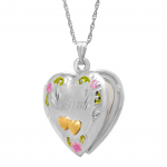 Double Heart 'Mom' Locket $28.19 (REG $129.00)