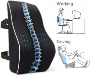 LIGHTNING DEAL!!! PROMIC Memory Foam Lumbar Support Back Cushion $19.52 (REG $32.99)