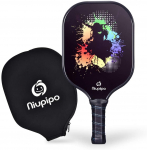 LIGHTNING DEAL!!! Graphite Pickleball Racket with Graphite Carbon Fiber Face $28.88 (REG $59.99)