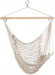 Gifts & Decor Cotton Rope Hammock Cradle Chair with Wood Stretcher $16.39 (REG $49.95)