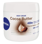 NIVEA Cocoa Butter Body Cream – 48 Hour Moisture For Dry Skin To Very Dry Skin $4.94 (REG $9.99)