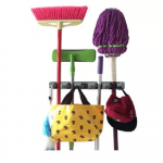 Strongest Grippers Mop Broom Holders with 5 Ball Slots and 6 Hooks $10.99 (REG $25.99)