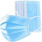 Valuell 30 Pack Disposable Face 3-layer Breathable Filter for Home Office, Blue $8.99 (REG $43.99)
