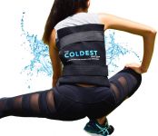 Flexible Gel Ice Pack and Wrap with Elastic Straps Specific for Cold Therapy$28.99 (REG $49.99)