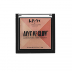 NYX PROFESSIONAL MAKEUP Away We Glow Illuminating Powder, Summer Reflection $3.73 (REG $10.00)