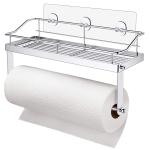 Carry360 Adhesive Paper Towel Holder Shelf $11.04 (REG $20.99)