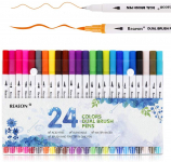 Bullet Journal Fine Point Pen & Calligraphy Markers Set $6.99 (REG $12.99)