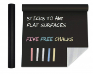 Extra Large Chalkboard Contact Paper Vinyl Wall Decal Poster $8.55 (REG $29.95)