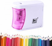 Battery Operated, Ultra Portable Automatic Pencil Sharpener $8.99 (REG $29.99)