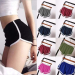 Women Casual Solid Summer Sports Shorts $4.99(80% Off using COUPON)