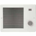 Broan Wall Heater, White Grille Heater with Built-In Adjustable Thermostat $67.99 (REG $133.99)