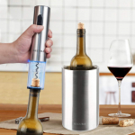 Stainless Steel Electric Wine Bottle Opener and Ice Bucket $27.99 (REG $59.99)